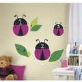 RoomMates One Decor™ Lady Bugs Chalkboard Peel and Stick Wall Decal, Purple