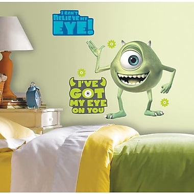 RoomMates Monsters inc. Mike Peel and Stick Giant Wall Decal