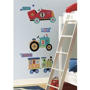 RoomMates Peel and Stick Giant Wall Decal, Transportation