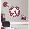 RoomMates University of Alabama Peel and Stick Giant Wall Decal, Red/Black