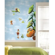 RoomMates Peel and Stick Giant Wall Decal, Dinosaur Train