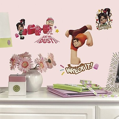 RoomMates Wreck-It Ralph Peel and Stick Wall Decal
