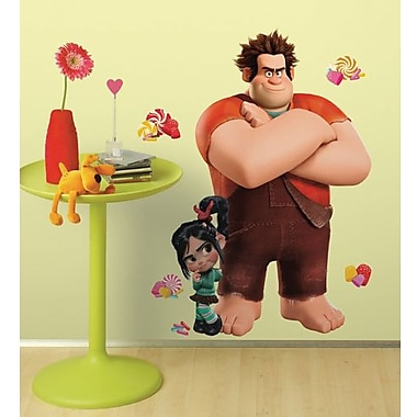 RoomMates Wreck-It Ralph Peel and Stick Giant Wall Decal