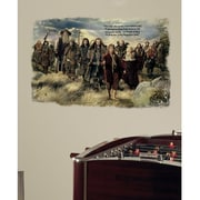 RoomMates The Hobbit - An Unexpected Journey Mini Mural Peel and Stick Giant Wall Decal