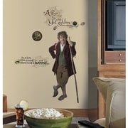 RoomMates The Hobbit - An Unexpected Journey Bilbo Baggins Peel and Stick Giant Wall Decal