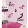 RoomMates Minnie Loves Pink Peel and Stick Wall Decal