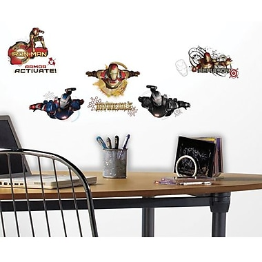 RoomMates Iron Man 3 Edgy Peel and Stick Wall Decal