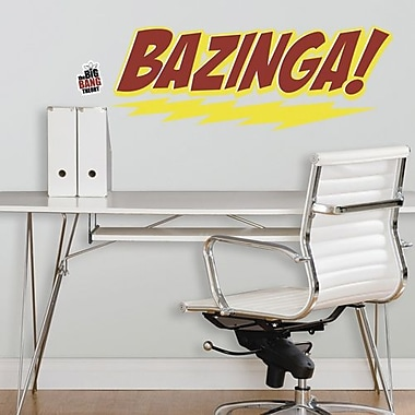 RoomMates The Big Bang Theory Bazinga! Peel and Stick Giant Wall Decal