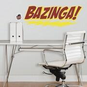 RoomMates The Big Bang Theory Bazinga! Peel and Stick Giant Wall Decal