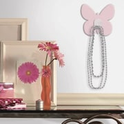 RoomMates Butterfly Magic Hook, Light Pink