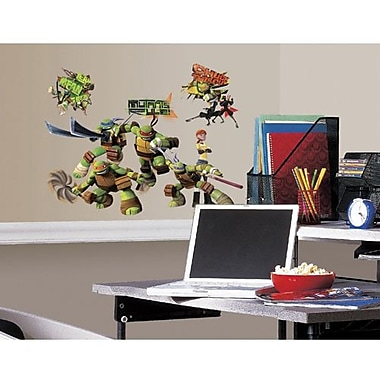 RoomMates Teenage Mutant Ninja Turtles Peel and Stick Wall Decal