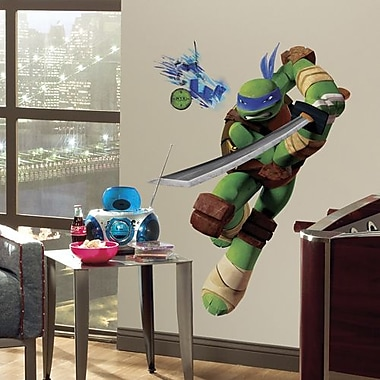 RoomMates Teenage Mutant Ninja Turtles Leo Peel and Stick Giant Wall Decal