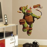 RoomMates Teenage Mutant Ninja Turtles Mike Peel and Stick Giant Wall Decal