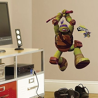 RoomMates Teenage Mutant Ninja Turtles Donatello Peel and Stick Giant Wall Decal