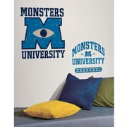 RoomMates Monsters University Peel and Stick Giant Wall Decal, Blue