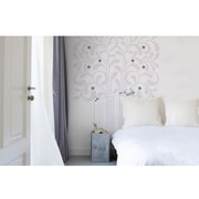 RoomMates Trust Peel and Stick Giant Wall Decal, Pink/Gray