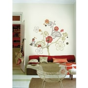 RoomMates Garden of Paradise Peel and Stick Giant Wall Decal