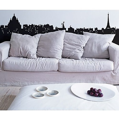 RoomMates Living in Paris Peel and Stick Giant Wall Decal