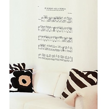RoomMates Rondo Peel and Stick Wall Decal, Black