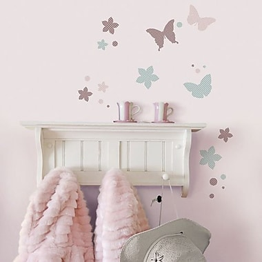 RoomMates Butterflies Peel and Stick Wall Decal