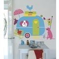 RoomMates Colorful Caravan Peel and Stick Giant Wall Decal