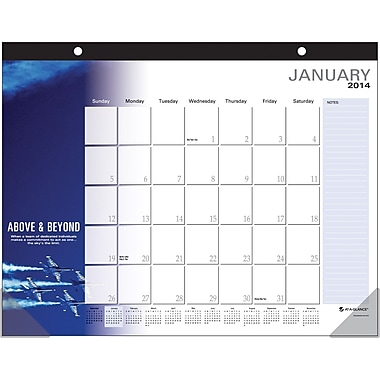"2014 Successories® Motivational Desk Pad, 22"" x 17"""