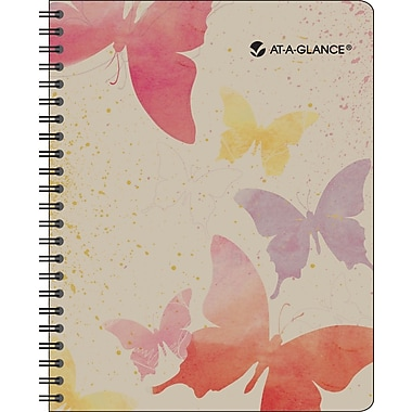 2014 AT-A-GLANCE® Watercolors Monthly Planner, 6 7/8in. x 8 3/4in.