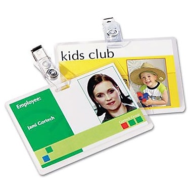 Fellowes ID Tag Size Thermal Laminating Pouches, 5 mil, 25 pack