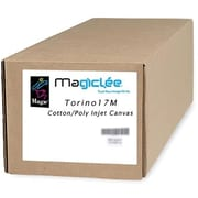 Magiclee/Magic Torino 17M 17in. x 50' 17 mil Matte Artist Stretch Inkjet Canvas, White, Roll