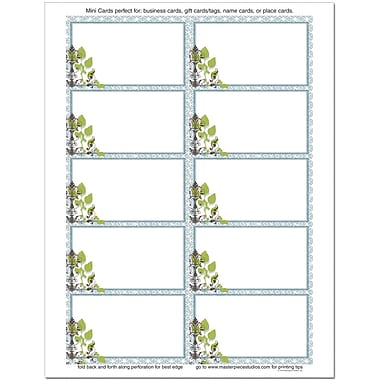 Garden Montage Business Cards, 250 count