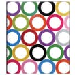 1in. Sugarland Vinyl Binder, Circles Design