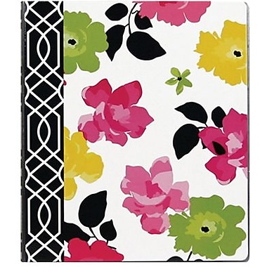1in. Fashionista Vinyl Binder, Floral Design