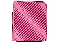 "Five Star® 2"" Zipper Binder + Multi-Access File, Pink"