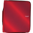 "Five Star® 2"" Zipper Binder + Multi-Access File, Red"