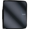 "Five Star 2"" Zipper Binder + Multi-Access File, Black"