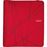 "Five Star® 1-1/2"" Zipper Binder, Red"