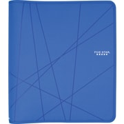 Five Star 1.5-Inch Round-Ring Zipper Binder, Blue (72358)