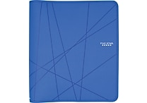 "Five Star® 1-1/2"" Zipper Binder, Blue"