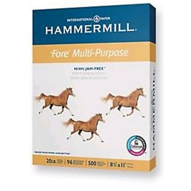 IP Hammermill® Fore® 8 1/2in. x 14in. 24 lbs. Multipurpose Bond Paper, White, 500/Ream