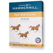 "IP Hammermill® Fore® 8 1/2"" x 14"" 24 lbs. Multipurpose Bond Paper, White, 5000/Case"