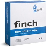"Finch® Fine ID 80 lbs. Color Copy Smooth Cover, 18"" x 12"", Bright White, 500/case"