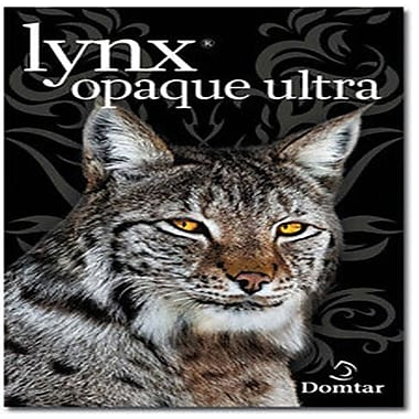 Domtar Lynx Opaque 12in. x 18in. 70 lbs. Digital Ultra Smooth Laser Paper, White, 1000/Case