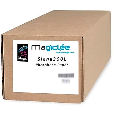 Magiclee/Magic Siena 200L 54in. x 100' Coated Lustre Microporous Photobase Paper, Bright White, Roll