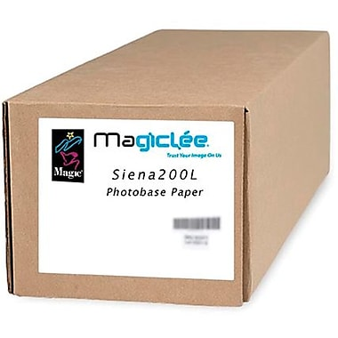 Magiclee/Magic Siena 200L 60in. x 100' Coated Lustre Microporous Photobase Paper, Bright White, Roll