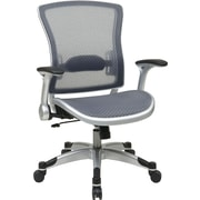 Office Star Space Seating® Breathable Mesh Mid Back Executive Chair, Black