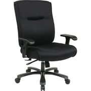 Office Star Pro-Line II™ Mesh Fabric Big and Tall High Back Executive Chair, Black