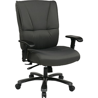 Office Star Pro Line II Fabric Big And Tall Deluxe Executive Chair Grey S