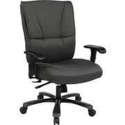 Office Star Pro-Line II™ Fabric Big and Tall Deluxe Executive Chair, Grey