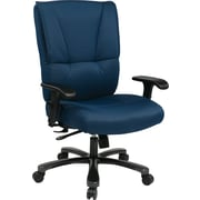 Office Star Pro-Line II™ Fabric Big and Tall Deluxe Executive Chair, Blue