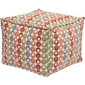 Office Star Ave Six® Fabric Aspen Pouf Ottoman, Flair Confetti
